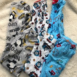 3 pair size 5T toddler pajama sets